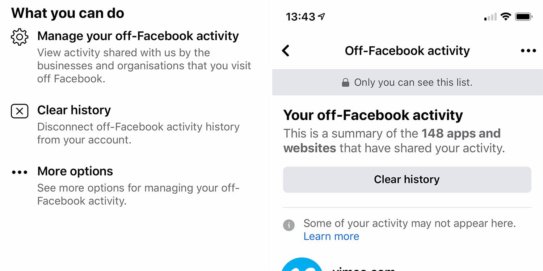 Очистить историю Facebook, отключив приложения и веб-сайты - 9to5Mac