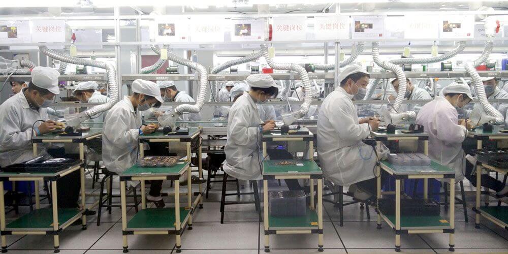 Отчет о показателях производства iPhone не точен, говорит Foxconn