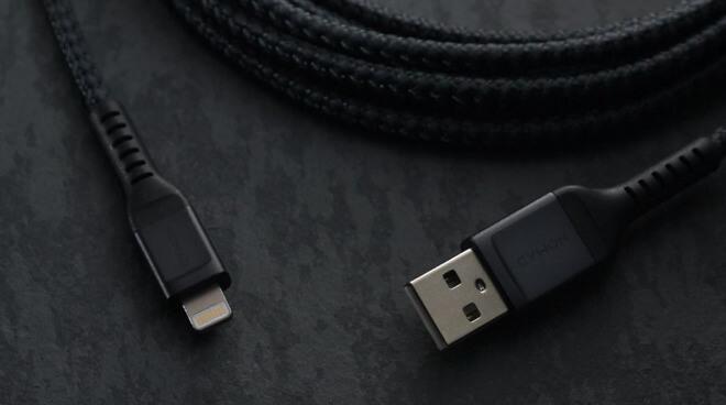 Плетеный кабель Nomad Lightning для продуктов Apple