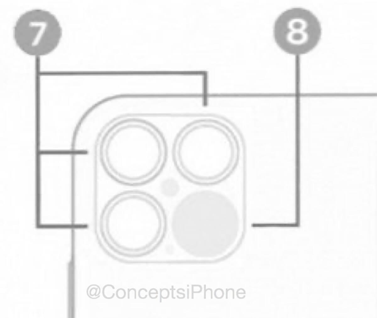 iphone12 слуховая камера