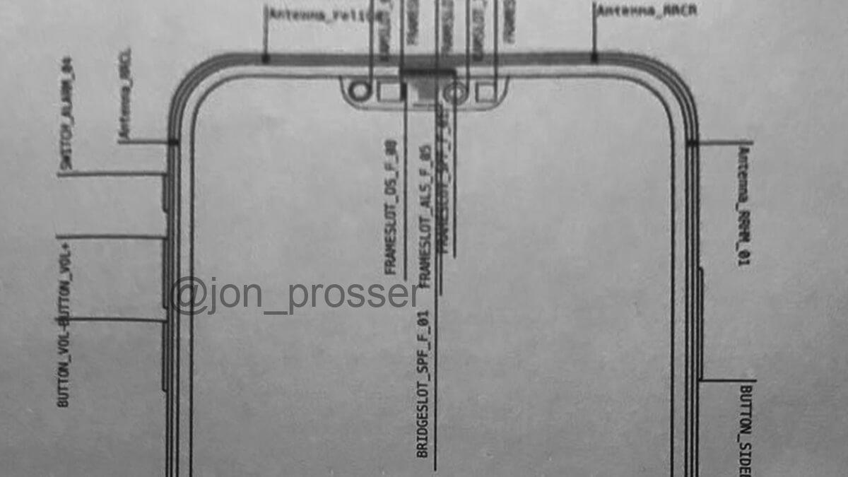 Iphone 12 Proser Notch Внутренний