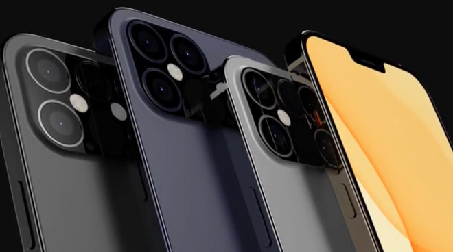 iPhone 12 рендеринг