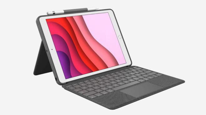 Корпус клавиатуры Logitech Combo Touch использует новую функцию трекпада Apple для iPadOS