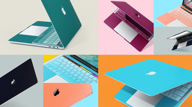 Новые скины ColorKit от 12 South придают вашему MacBook яркость