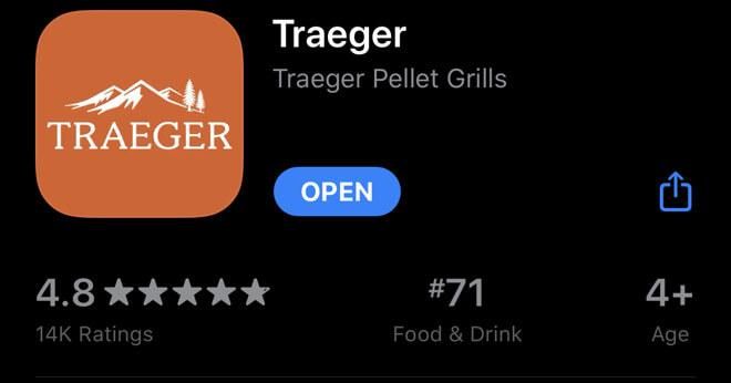 Приложение Traeger получает серьезное обновление