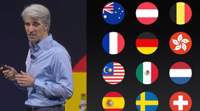 Крейг Федериги в 2017 году представил улучшенные голоса Siri для всех языков, включая немецкий