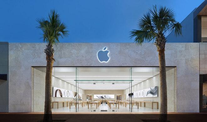 Линкольн-роуд Apple Store в Майами-Бич