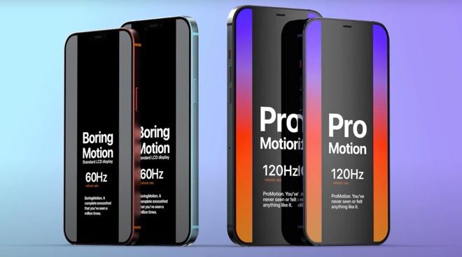 «IPhone 12 Pro» 5G может иметь дисплей ProMotion 120 Гц
