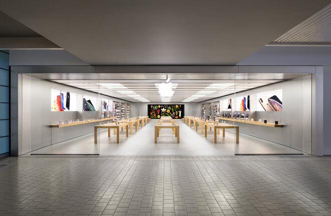 Apple начнет открытие магазинов в США на следующей неделе