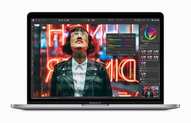 Apple обновляет 13-дюймовый MacBook Pro с волшебной клавиатурой