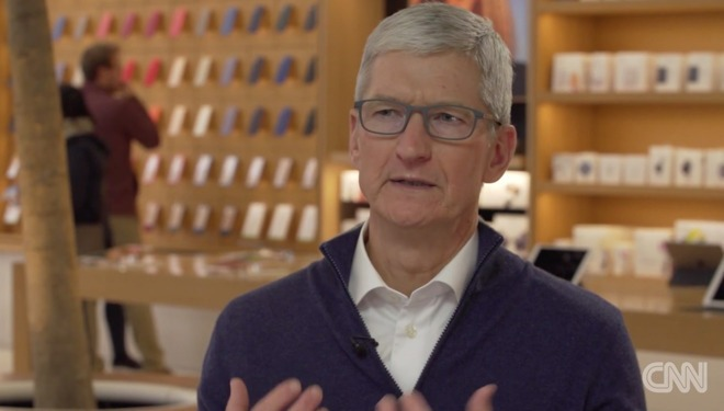 Тим Кук хочет открыть Apple Store в ближайшее время