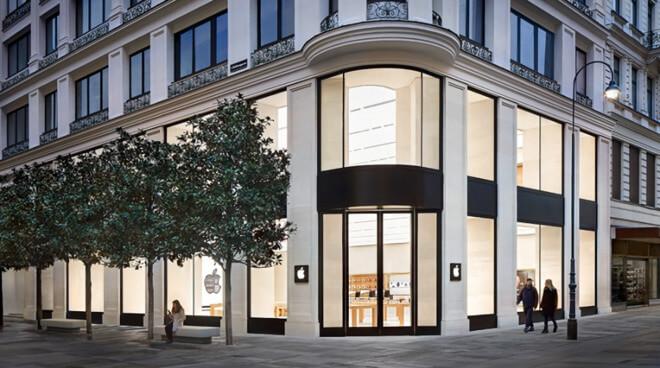 Apple вновь открыла единственный Apple Store в Австрии