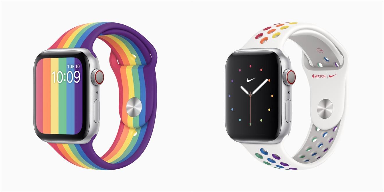 Новые Apple Pride Edition Apple Watch группы