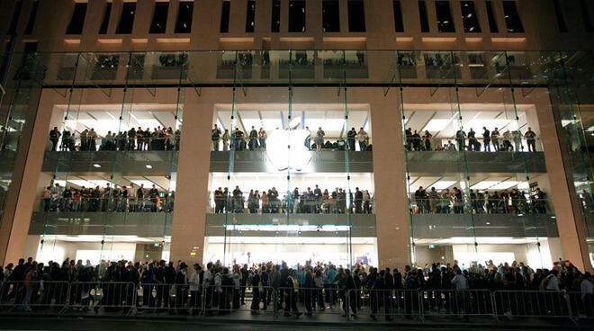 Большинство австралийских магазинов Apple откроются на этой неделе