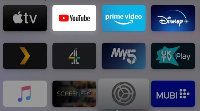 Как исправить серые приложения на Apple TV