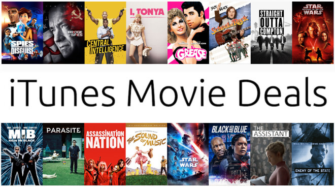 iTunes Movie Deals недели