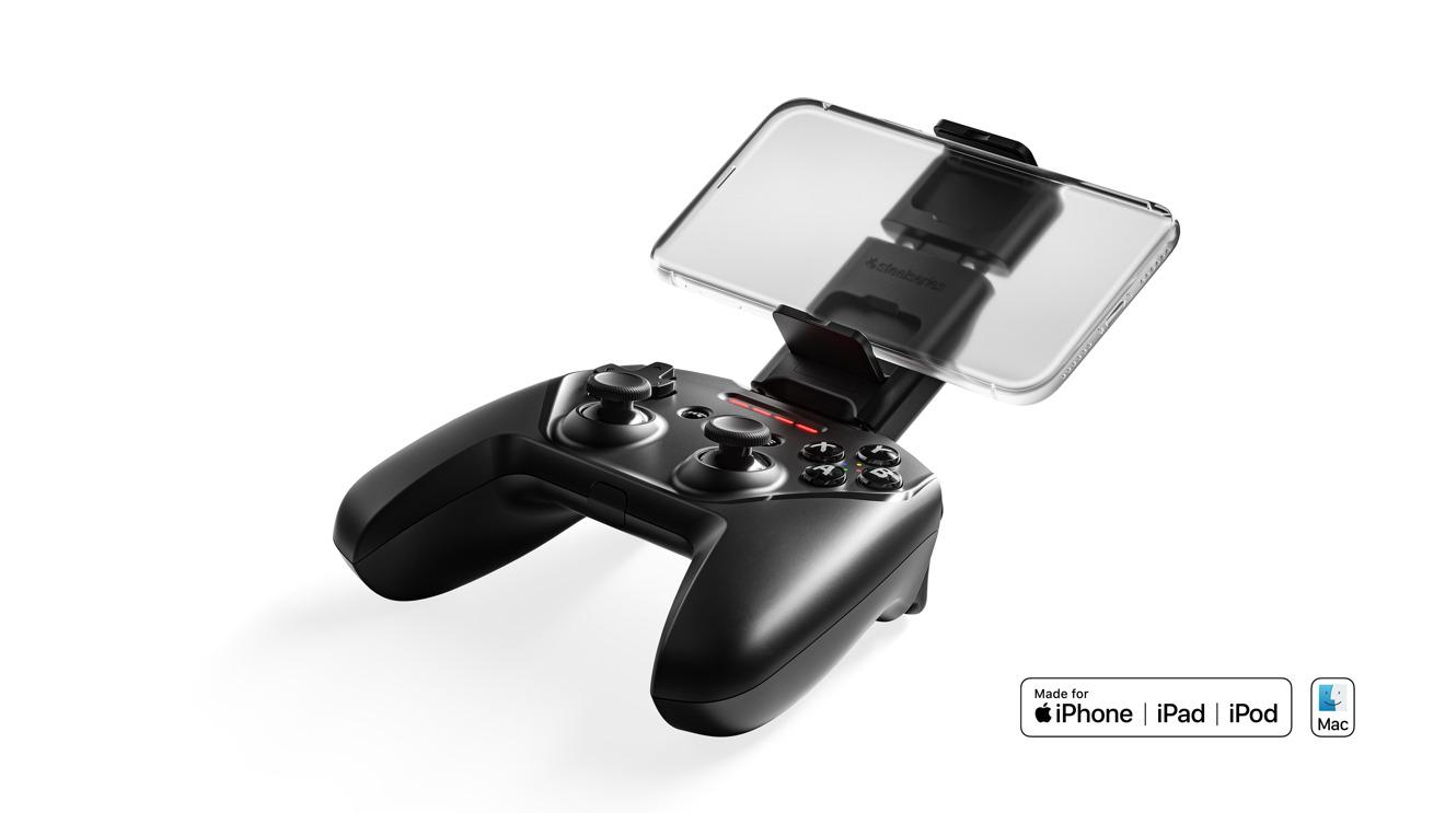 Обновленный SteelSeries Nimbus + предлагает 50 часов игр на iPhone