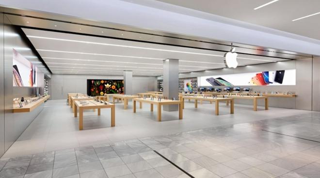 Открытие Apple Store в Швейцарии 12 мая