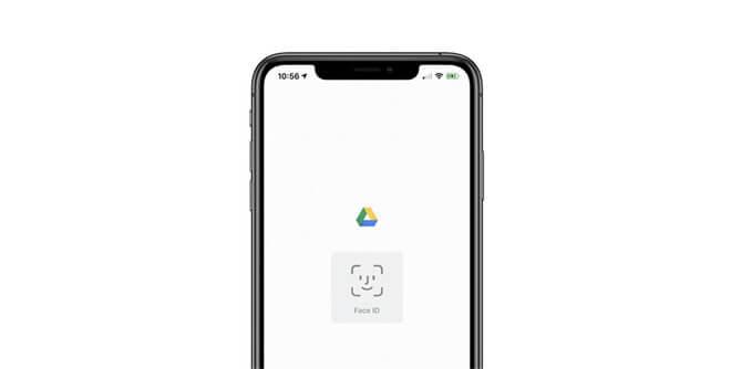Приложение Google Drive для iOS теперь можно защитить с помощью Face ID и Touch ID.
