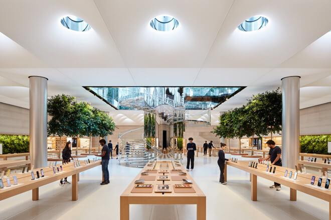Розничные магазины Apple будут сильно отличаться в США при открытии