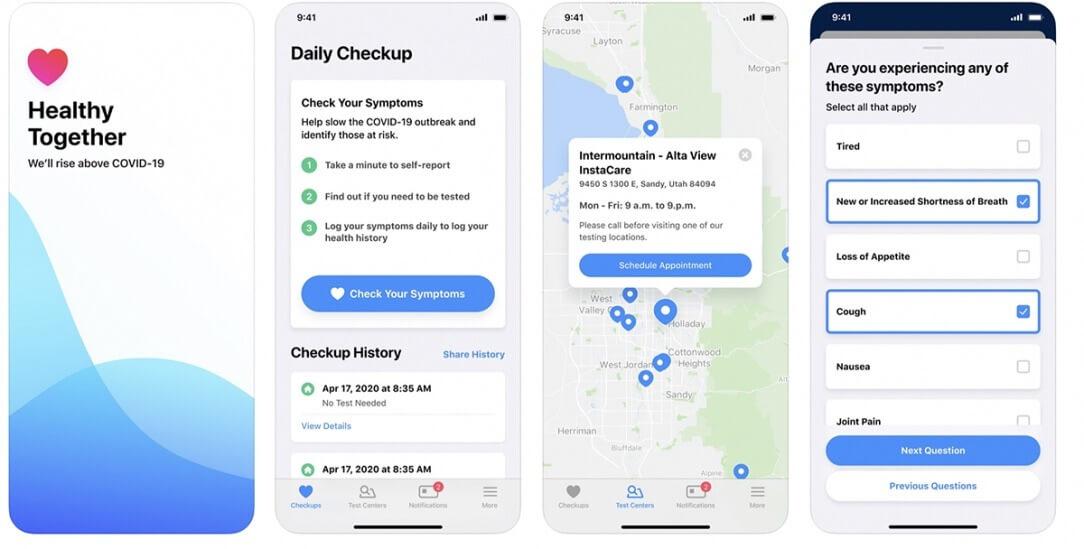 Юта отклоняет Apple-Google API уведомления о подверженности для приложения, созданного стартапом в социальных сетях