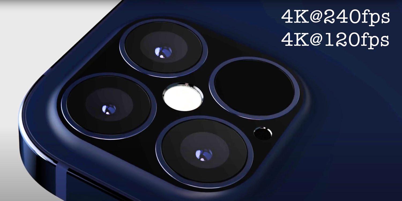 4K на 240fps или 120fps может быть возможно с iPhone 12-9to5Mac