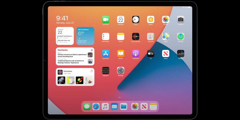 Виджеты для iPad необъяснимо менее гибкие, чем для iPhone