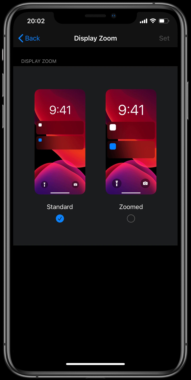 iOS 14 бета дает нам представление о системном интерфейсе на 5,4-дюймовом iPhone 12