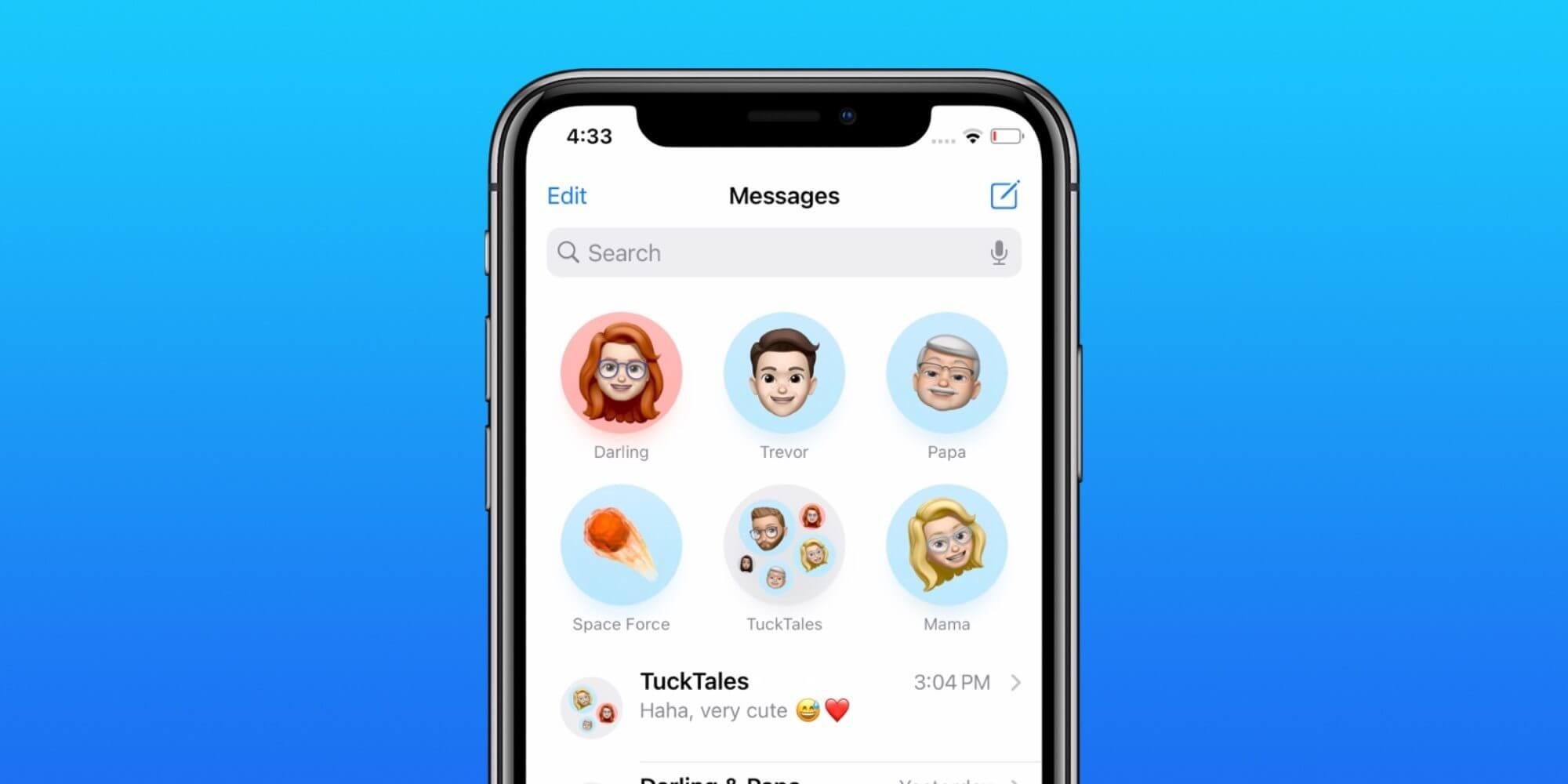 iOS 14 Как закрепить текстовые сообщения на iPhone