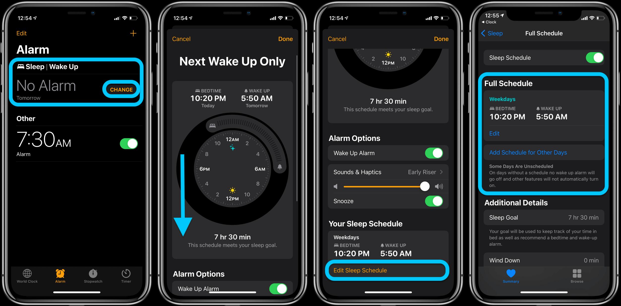 Как использовать новые будильники iPhone в iOS 14, пошаговое руководство 2
