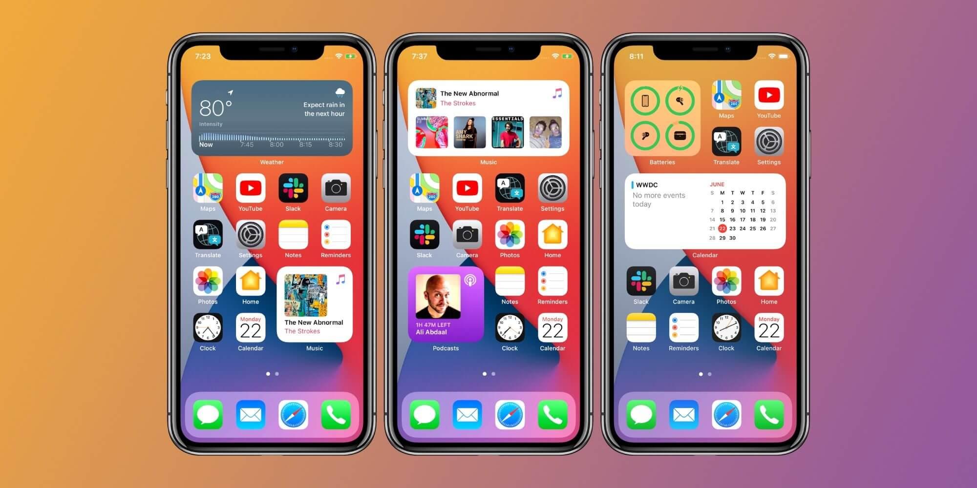 iOS 14 как использовать виджеты на главном экране iPhone и iPad