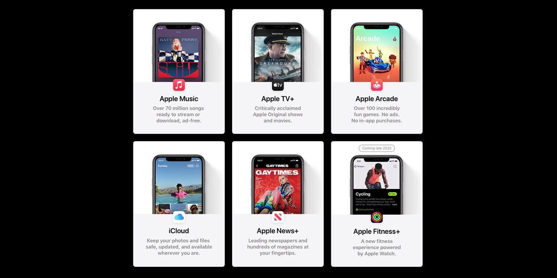 Различные идентификаторы Apple ID для Apple Music и iCloud подходят для Apple One