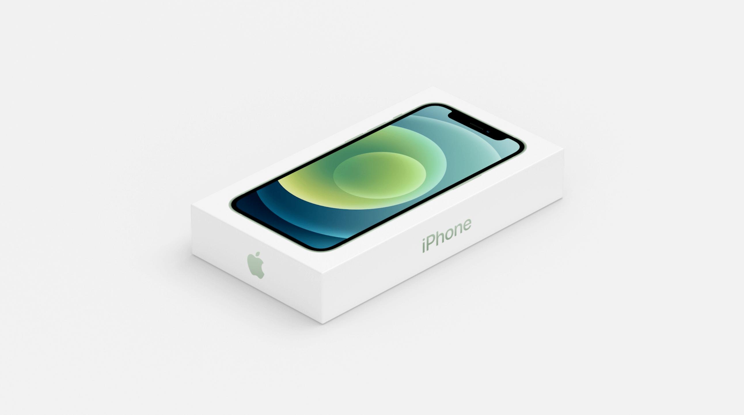 Коробка для iPhone 12