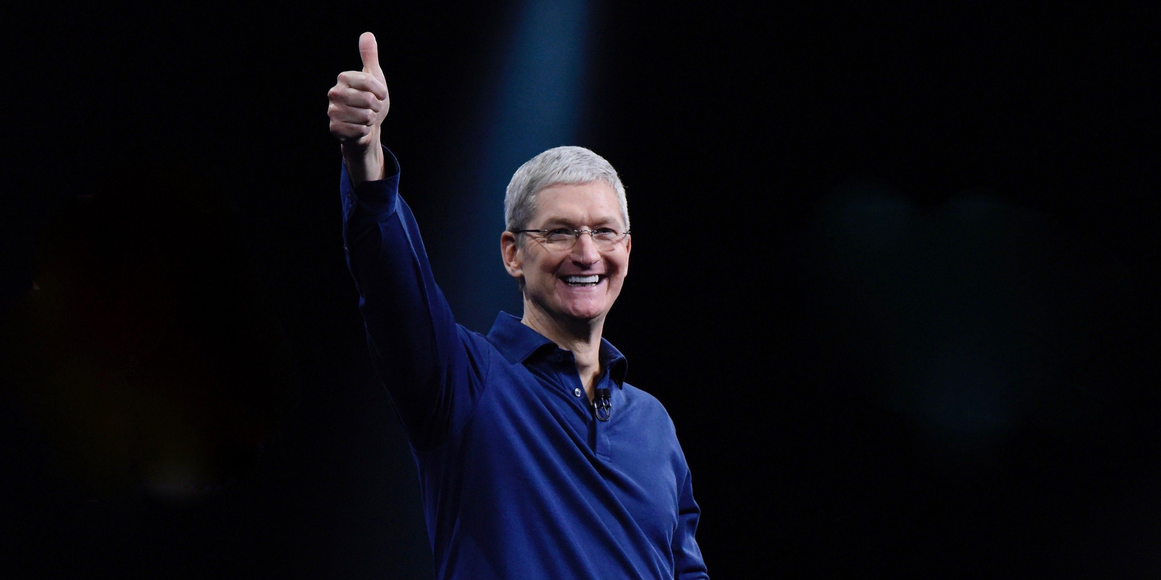Рекордные доходы Apple