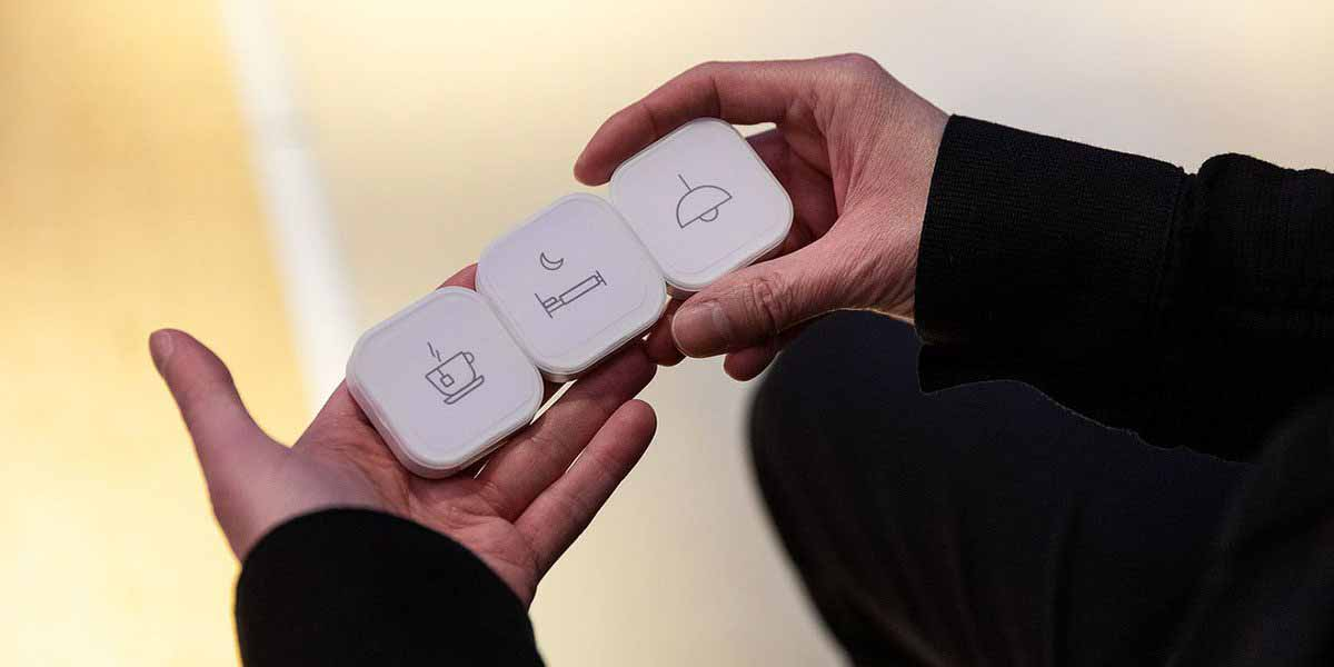 Кнопки быстрого доступа активируют сцены умного дома Ikea за 10 долларов