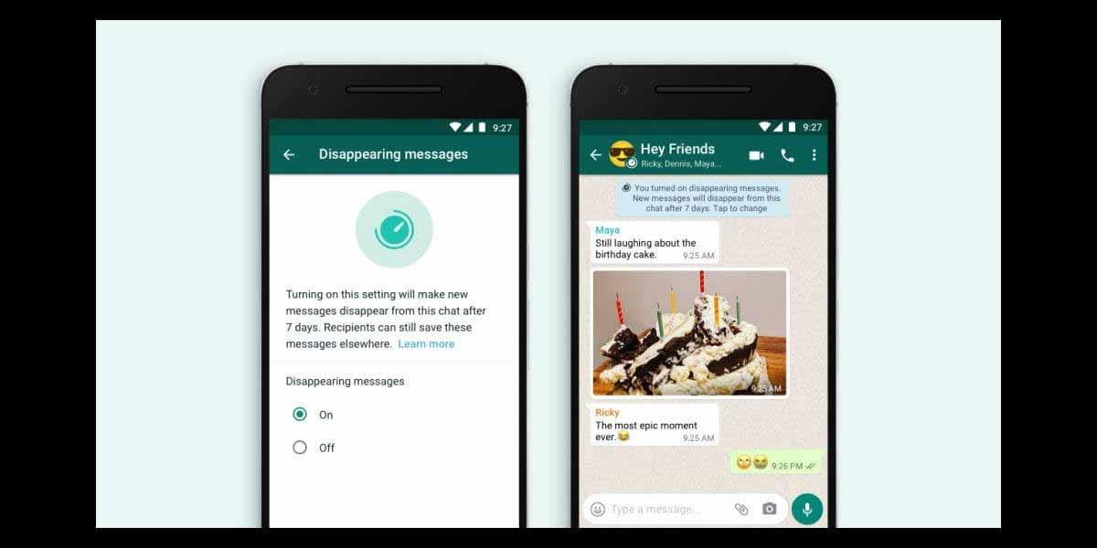 На iPhone теперь появляются сообщения об исчезновении сообщений WhatsApp