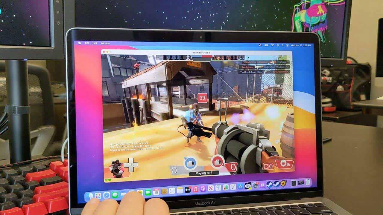 На компьютерах Mac M1 теперь можно запускать приложения и игры для Windows через CrossOver 20