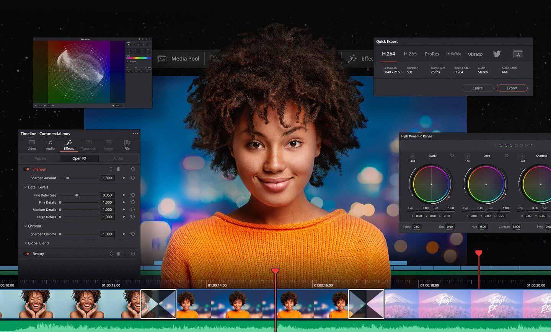 Новая бета-версия DaVinci Resolve теперь доступна с поддержкой Mac на базе M1