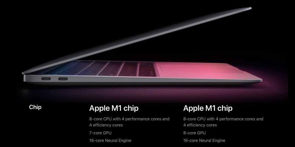 Технические характеристики нового MacBook Air: смешная разница по уважительной причине