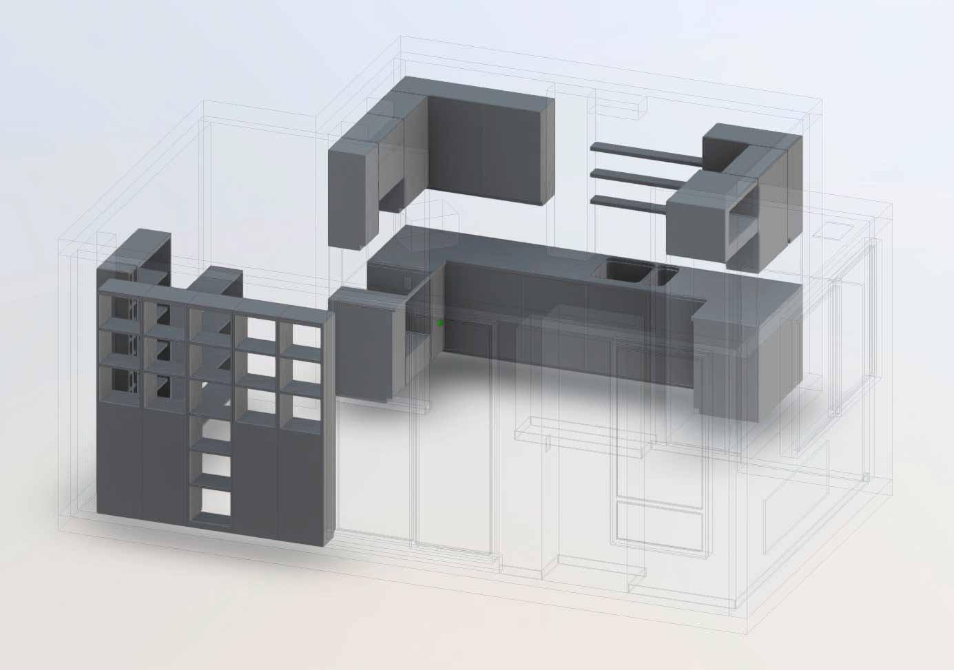 3D-сканирование вашего дома - двери и окна также удалены