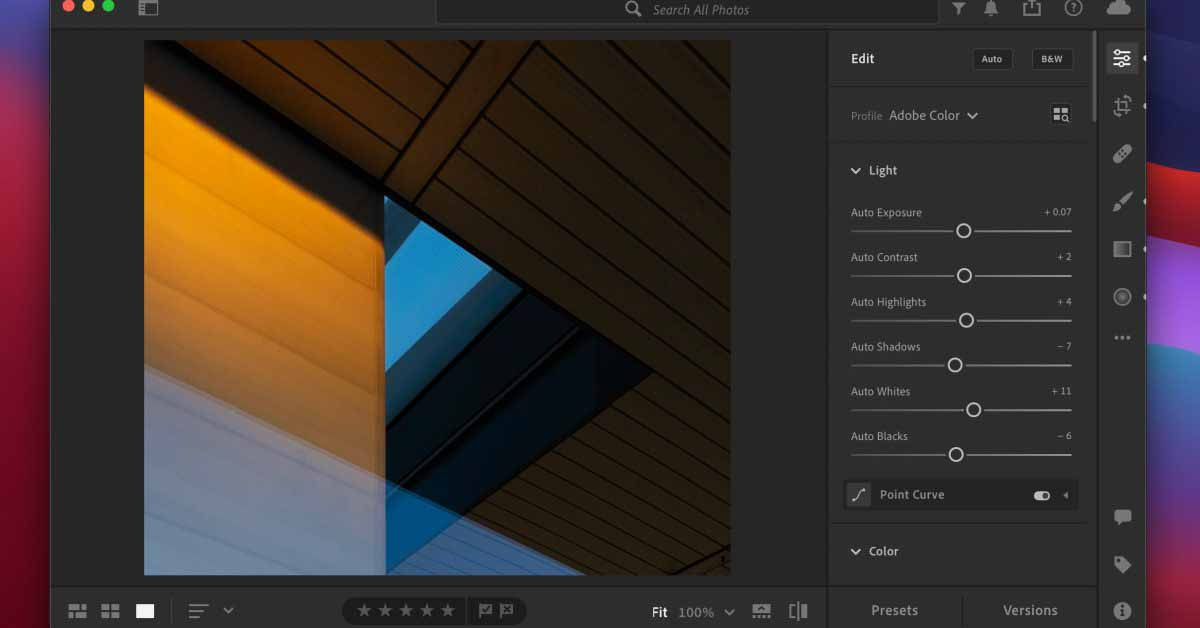 Adobe Lightroom теперь оптимизирован для Apple Silicon Mac