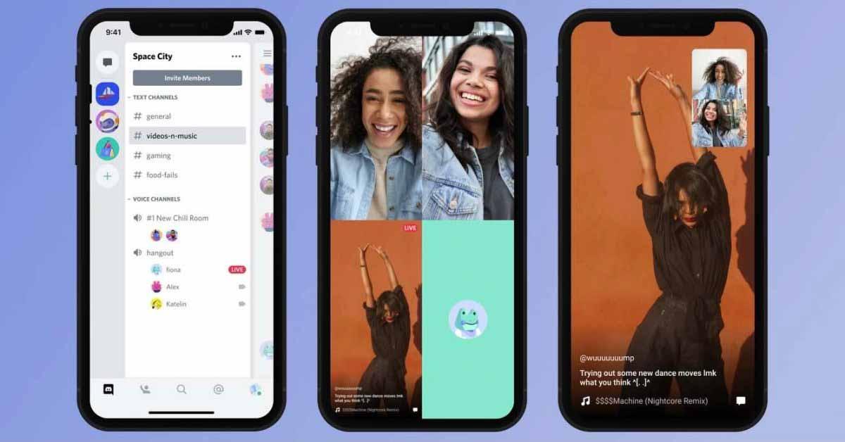 Discord запускает совместное использование экрана iOS и Android для потоковой передачи и просмотра вечеринок