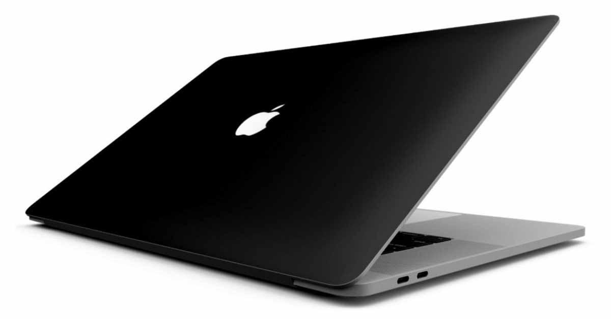 Матовый черный MacBook описан в патенте Apple