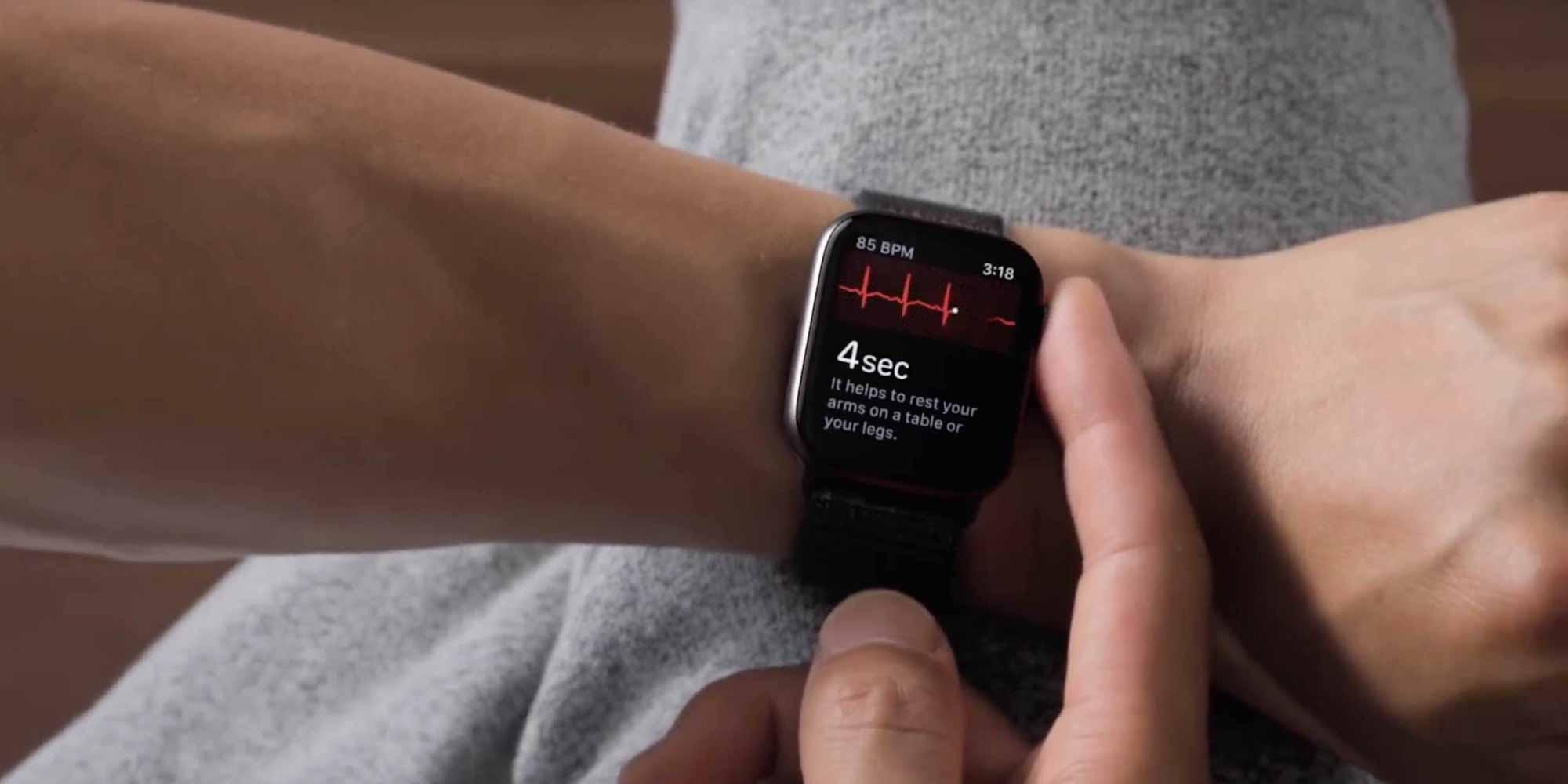 Показания ЭКГ для Apple Watch