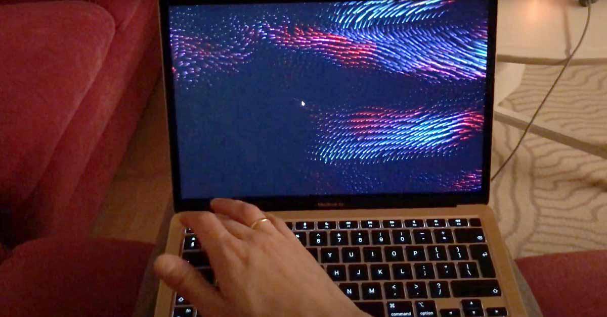 M1 Mac Ошибка быстрого переключения пользователей с блокировкой заставки