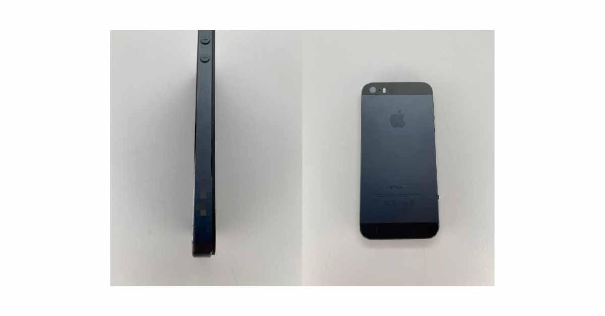 На новых изображениях показан прототип iPhone 5s с неизданным дизайном Black and Slate