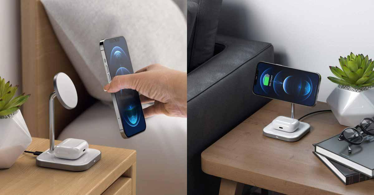 Satechi представляет недорогое зарядное устройство 2-в-1, совместимое с MagSafe