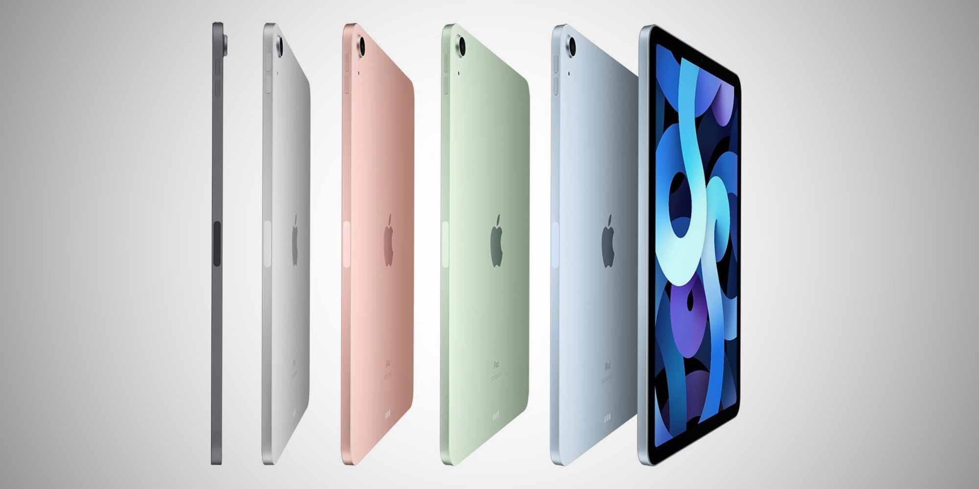 Цвета iPad Air