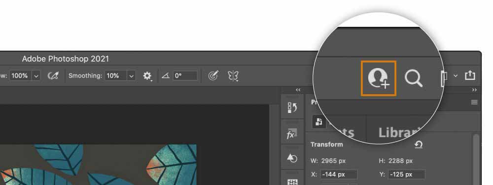 Совместная работа над документами Adobe Illustrator и Adobe Photoshop