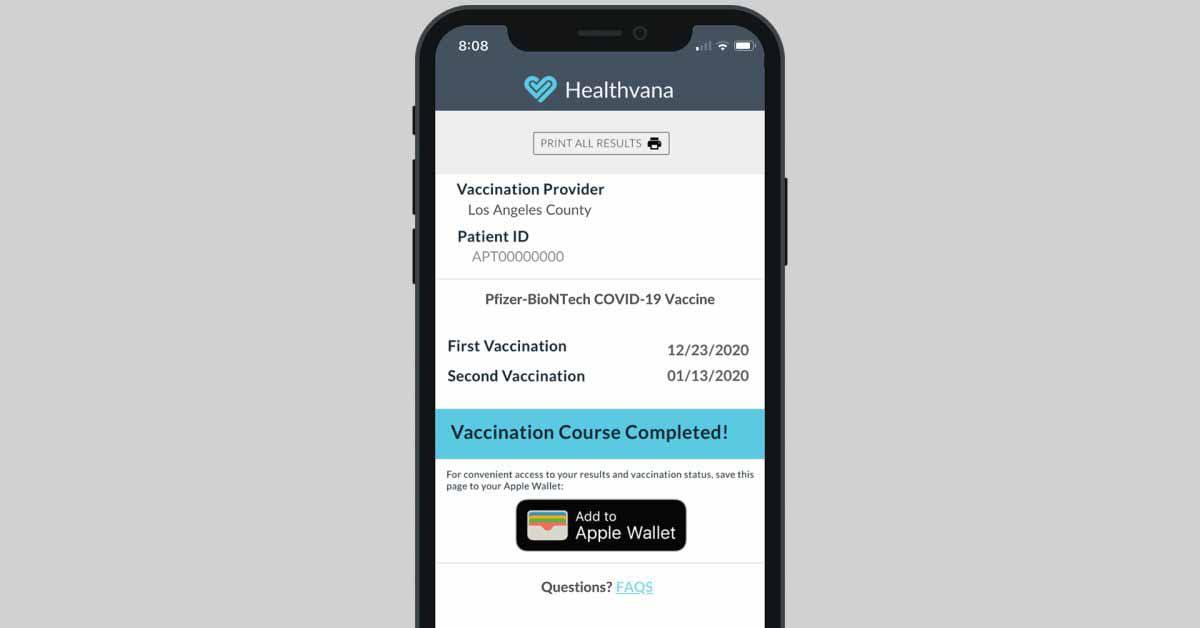 App Store потребует от органов здравоохранения предоставления приложений, подтверждающих вакцинацию.